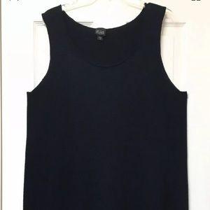 Eileen Fisher woman black dress sz 1X sleveless